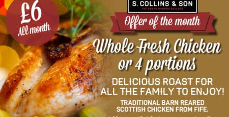 Whole Fresh Chicken for £6